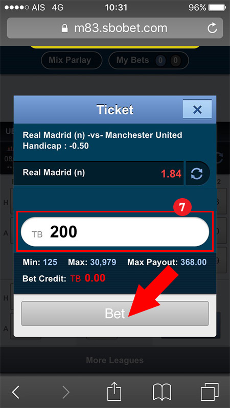 Sports betting sbobet mobile